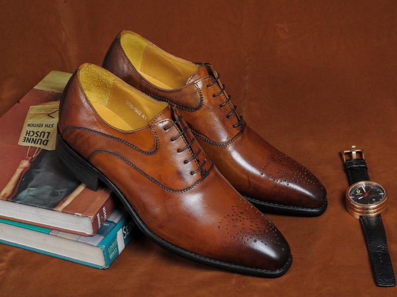 bộ sưu tập giày nam thu đông 2015